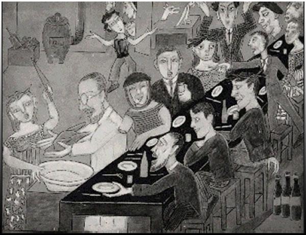 Σκίτσο της Μαρίας Βασίλιεφ