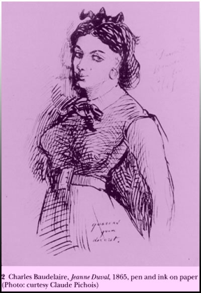 Jeanne Duval - Ζωγραφικό έργο: Κάρολος Μπωντλέρ